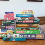 Just a small selection of the vast array of games provided!